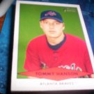 Tommy Hanson 2007 Bowman Heritage Prospects RC Braves