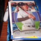 Jeff Baker 2007 Upper Deck Elements RC Rockies