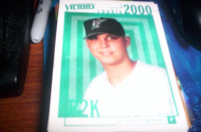 Josh Beckett 2000 Victory RC Marlins