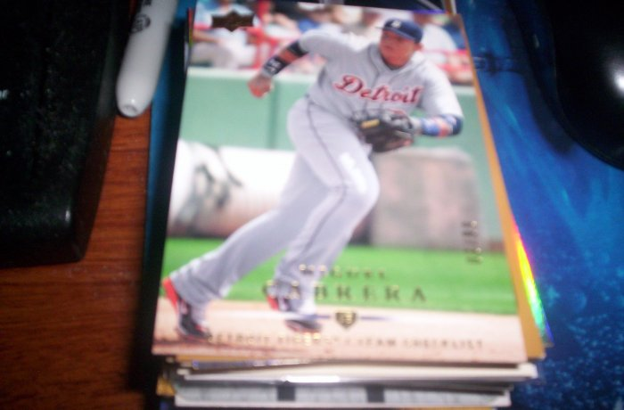 Miguel Cabrera 2008 Upper Deck Gold Tigers