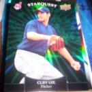 Cliff Lee 2009 Upper Deck Starquest Indians