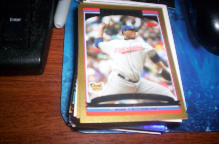 Fausto Carmona 2006 Topps Update RC Indians