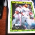 Manny Ramirez 1994 Topps Future Star Gold RC Indians