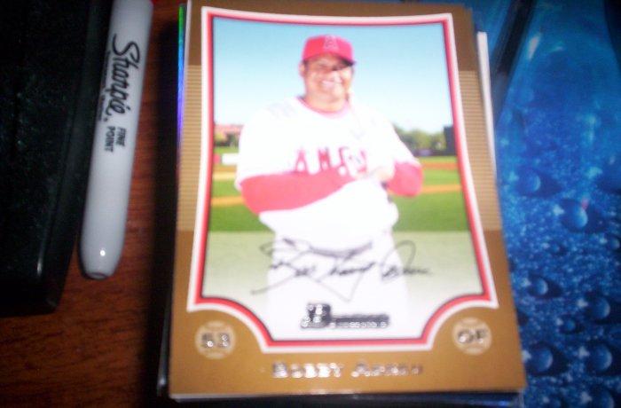 Bobby Abreu 2009 Bowman Gold Angels