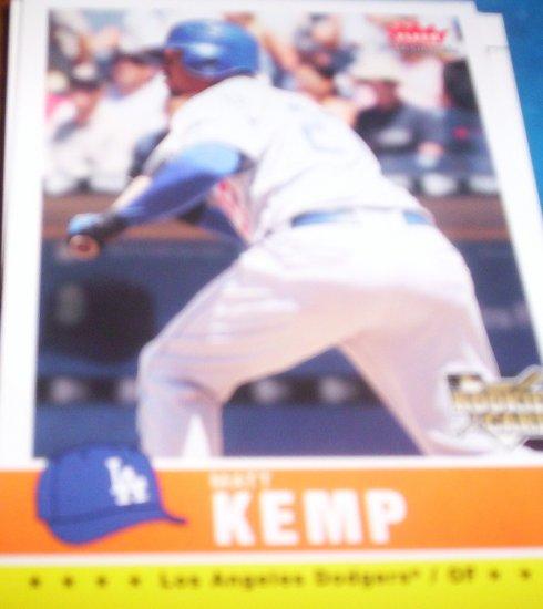Matt Kemp 2006 Fleer Tradition RC Dodgers