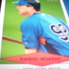 Daniel Murphy 2007 Bowman Heritage Prospects RC Mets