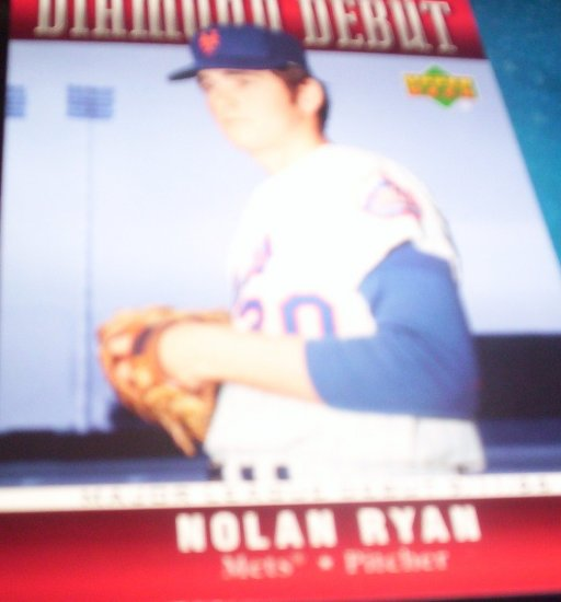 Nolan Ryan 2006 Upper Deck Diamond Debut Mets