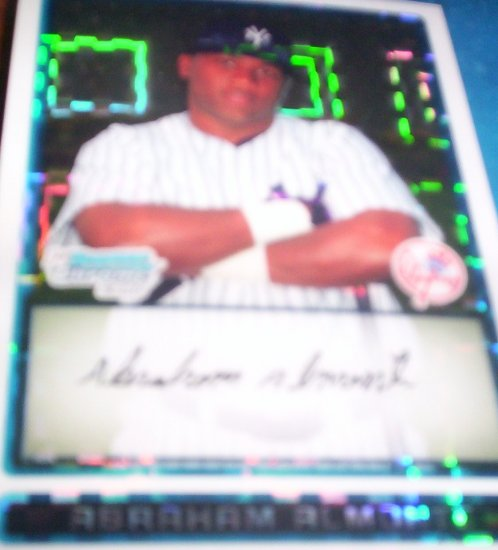 Abraham Almonte 2009 Bowman Chrome Prospects RC Yankees
