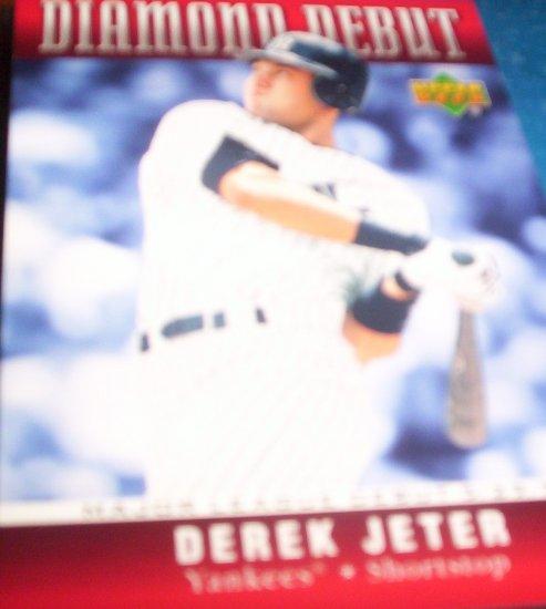 Derek Jeter 2006 Upper Deck Diamond Debut Yankees