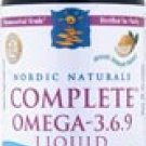 Nordic Naturals Complete Omega-3-6-9 Liquid Lemon -- 8 fl oz