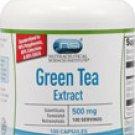 Green Tea Extract -- 500 mg - 100 Capsules  antioxidant