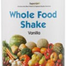 Vitacost Whole Food Shake -- Vanilla - 21 oz