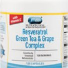 Vitacost Resveratrol + Green Tea & Grape Complex - 120 Capsules   powerful antioxidant