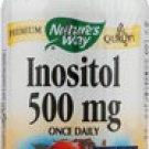 Nature's Way Inositol -- 500 mg - 100 Capsules privent hair loss