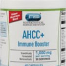 Vitacost AHCC®+ Immune Booster -- 1,000 mg per serving- 60 Capsules