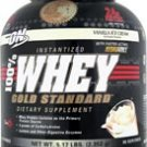 Optimum Nutrition 100% Gold Standard Whey Protein Vanilla Ice Cream -- 5.15 lbs