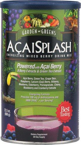 Garden Greens AcaiSplash Drink Mix Powder -- 23.5 oz