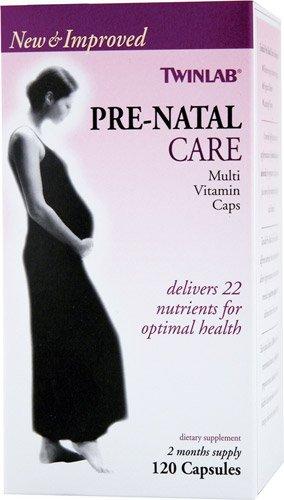 Twinlab Pre-Natal Care Multi-Vitamin -- 120 Capsules