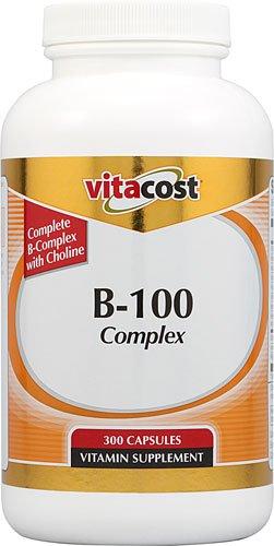 B-100 Complex -- 300 Capsules