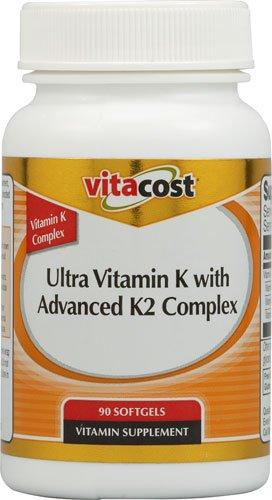 Ultra Vitamin K with Advanced K2 Complex -- 90 Softgels