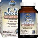 Garden of Life RAW Probiotics Women 50 and Wiser -- 85 billion - 90 Vegetarian Capsules