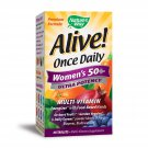 Nature's Way Once Daily Women's 50+ Multivitamin, Ultra Potency, Food-Based Blends - 60 Tablets