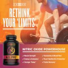 Nitric Oxide Supplement with L Arginine,Citrulline Malate,AAKG & Beet Root-Powerful Muscle Builder