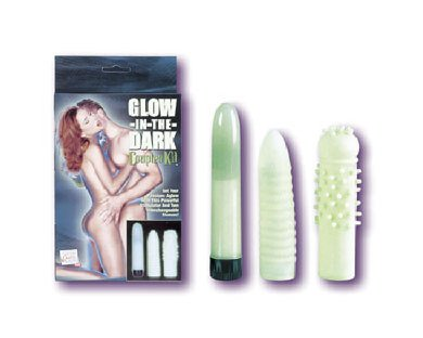 Glow-In-The-Dark Couples Kit