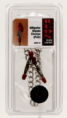 Alligator Nipple Clamps (pair)