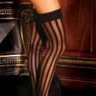 Stripe thigh hi.