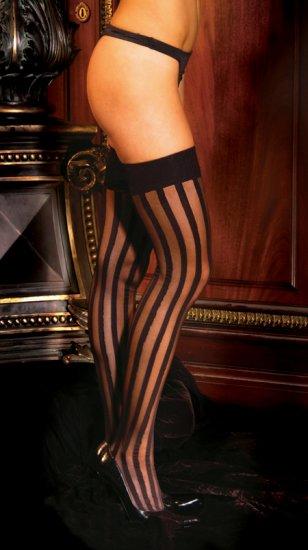 Stripe thigh hi..........QUEEN