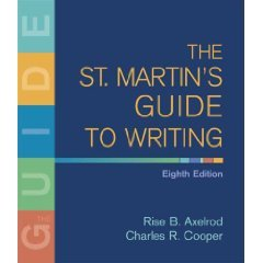 The St. Martin's Guide to Writing (Hardcover)  (free shipping)