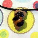 Cheezburger Kitty Siamese Meezer Animini Cat Necklace