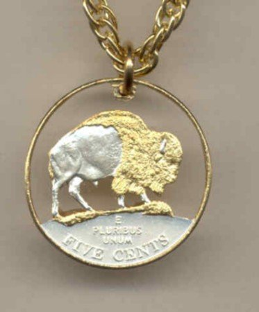 Bison nickel coin (2005 only)