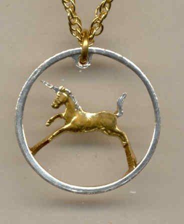 India 1 pice (Unicorn) bronze (U.S. nickel - size) 1950 - 1955