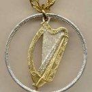 Irish penny Harp (U.S. half dollar size) Bronze 1940 - 1968