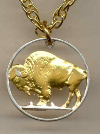 U.S. Buffalo nickel copper - nickel 1913 - 1938