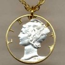 U.S. Mercury dime 90% silver 1916 - 1945
