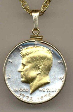 Bi-centennial Kennedy half (1976)