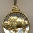 Buffalo nickel (minted 1913 - 1938)