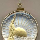 U.S. Statue of Liberty half dollar (minted 1986)
