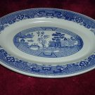 Blue Willow Oval Platter
