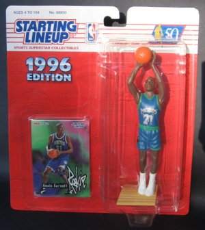 KEVIN GARNETT 1996 Starting Lineup  - Minnesota Timberwolves and Boston Celtics First Piece
