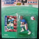 EDDIE GEORGE 1997 Starting Lineup - Houston Oilers & Ohio State Buckeyes First Piece