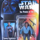 LANDO CALRISSIAN 1995 Star Wars Power of the Force RED CARD