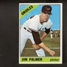 JIM PALMER - 1966 Topps ROOKIE CARD #125 - Baltimore Orioles