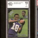 RANDY MOSS - 1998 Absolute RC - BCCG 10 New England Patriots & Marshall