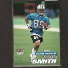 STEVE SMITH - 2001 Fleer Ultra ROOKIE - Carolina Panthers & Utah Utes