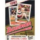 1992 Bowman Baseball COMMONS - Complete your set