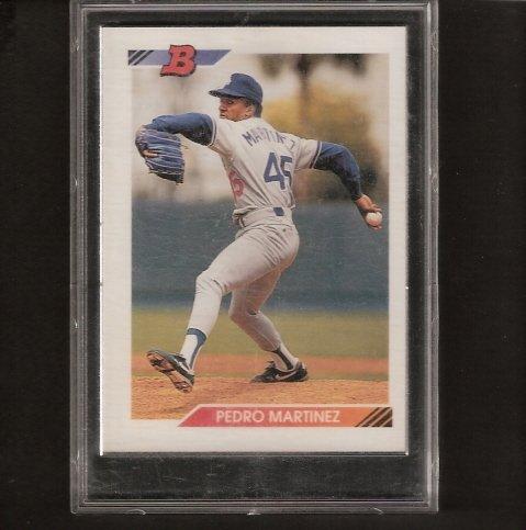 PEDRO MARTINEZ - 1992 Bowman ROOKIE CARD #82 - Phillies